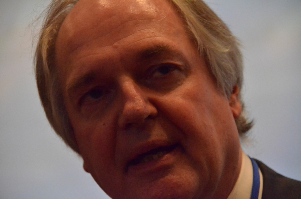 Paul Polman, CEO of UK and Netherlands-based Unilever. Photo by Justin Catanoso