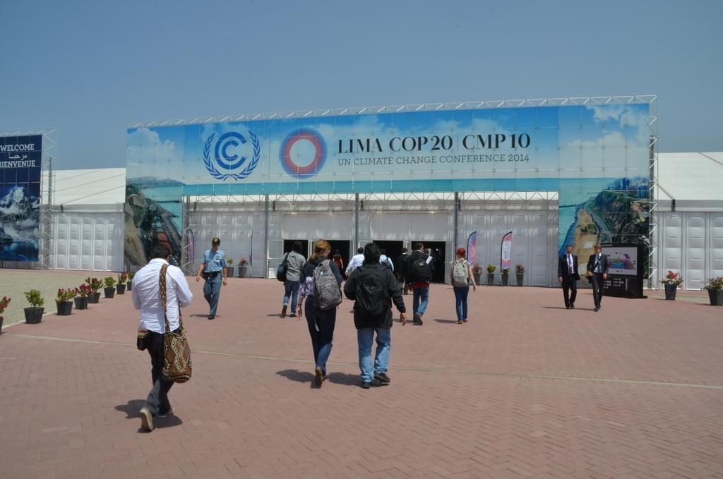 Entrance to COP20