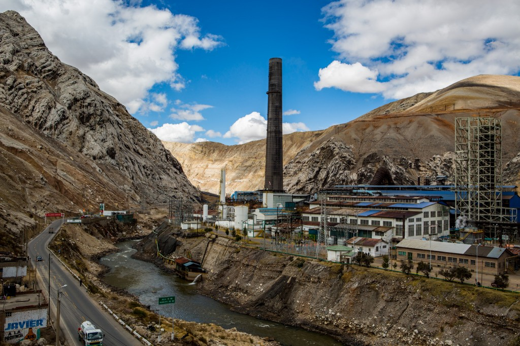 The smelting that virtually killed a city in the Andes, and poisoned its people. And the people want it open again, even as the pope speaks out against such environmental oppression. Photo by Jason Houstin