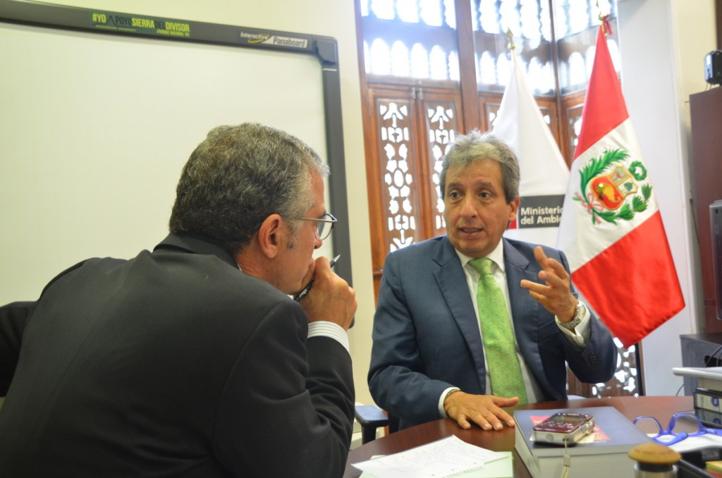 Manuel Pulgar-Vidal is Peru's minister of the environment, and among the most most influential climate change policy makers. Photo by Emilia Catanoso