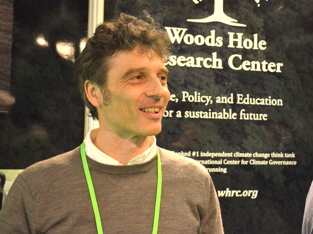 Alessandro Baccini with Woods Hole Research Center Photo by Justin Catanoso