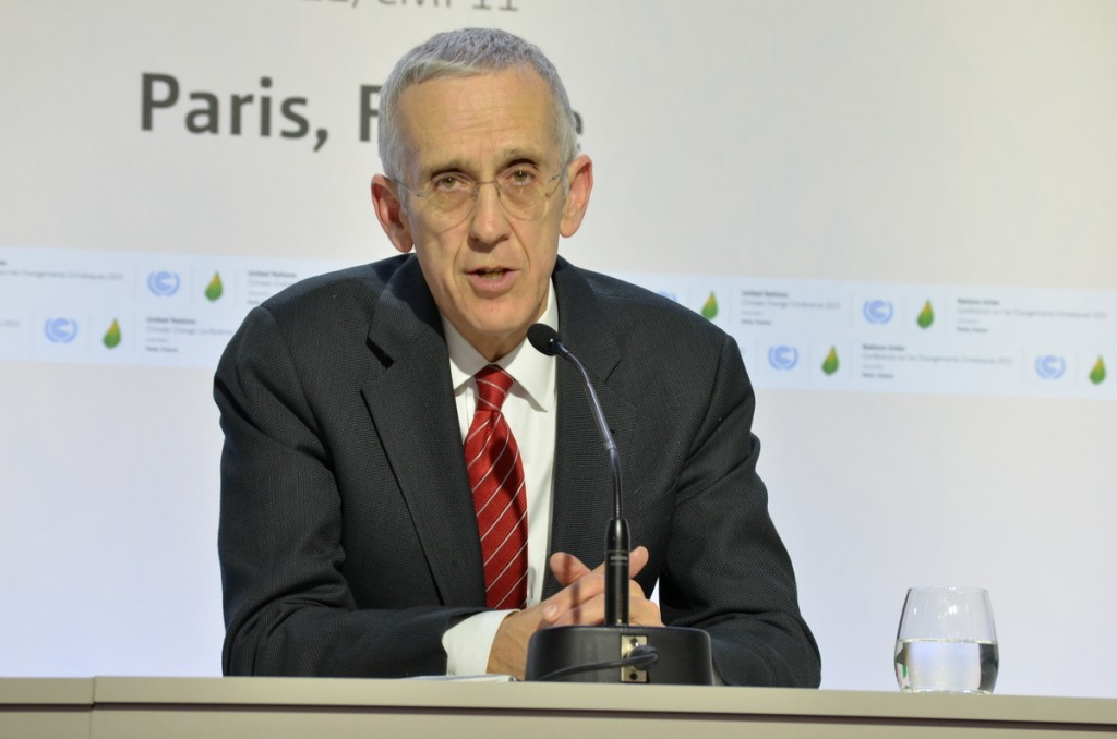 Todd Stern is President Obama's top adviser on climate the and U.S.'s  leadneogiator at COP21.